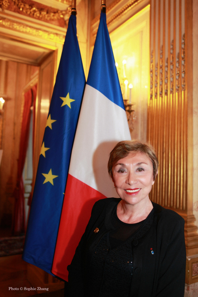 Julia Kristeva photo Sophie Zhang
