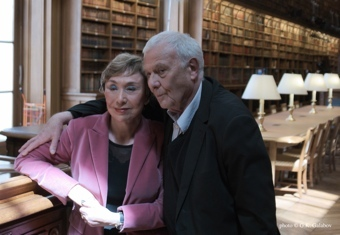 Julia Kristeva, Philippe Sollers, 2015, photo : G.K. Galabov