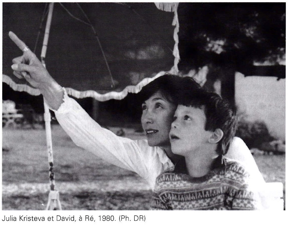 Julia Kristeva et David