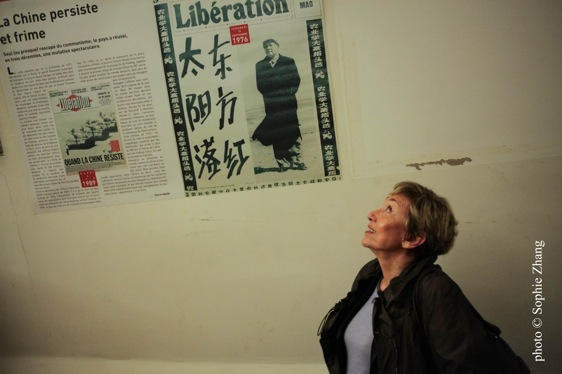 Julia Kristeva, photo de Sophie Zhang