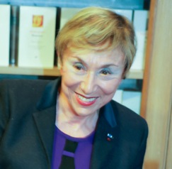 Julia Kristeva, photo © Sophie Zhang