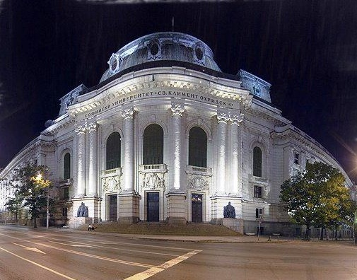Université de Sofia Bulgarie