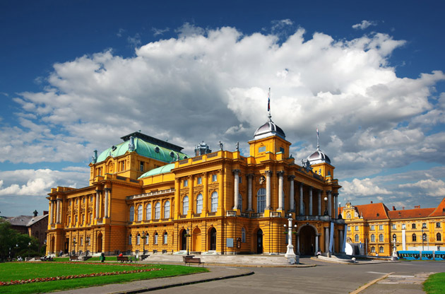 Zagreb - croatian-national-theater
