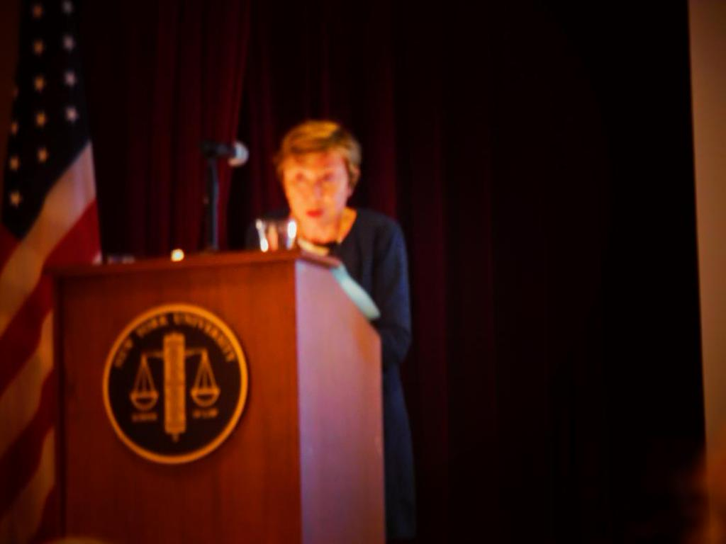 Julia Kristeva, New York 15 october, 2015